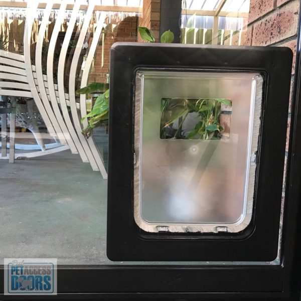 Custom made dog door